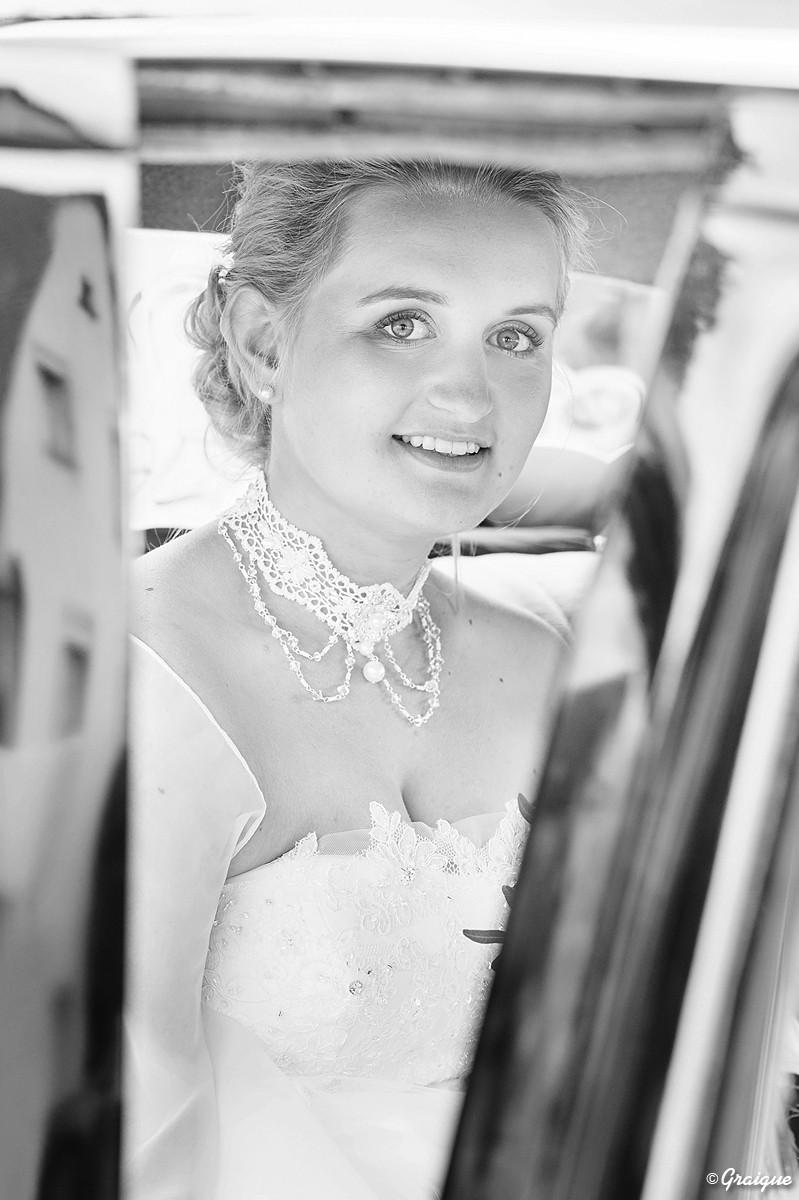 Camille et Jean - Portrait de la mariée