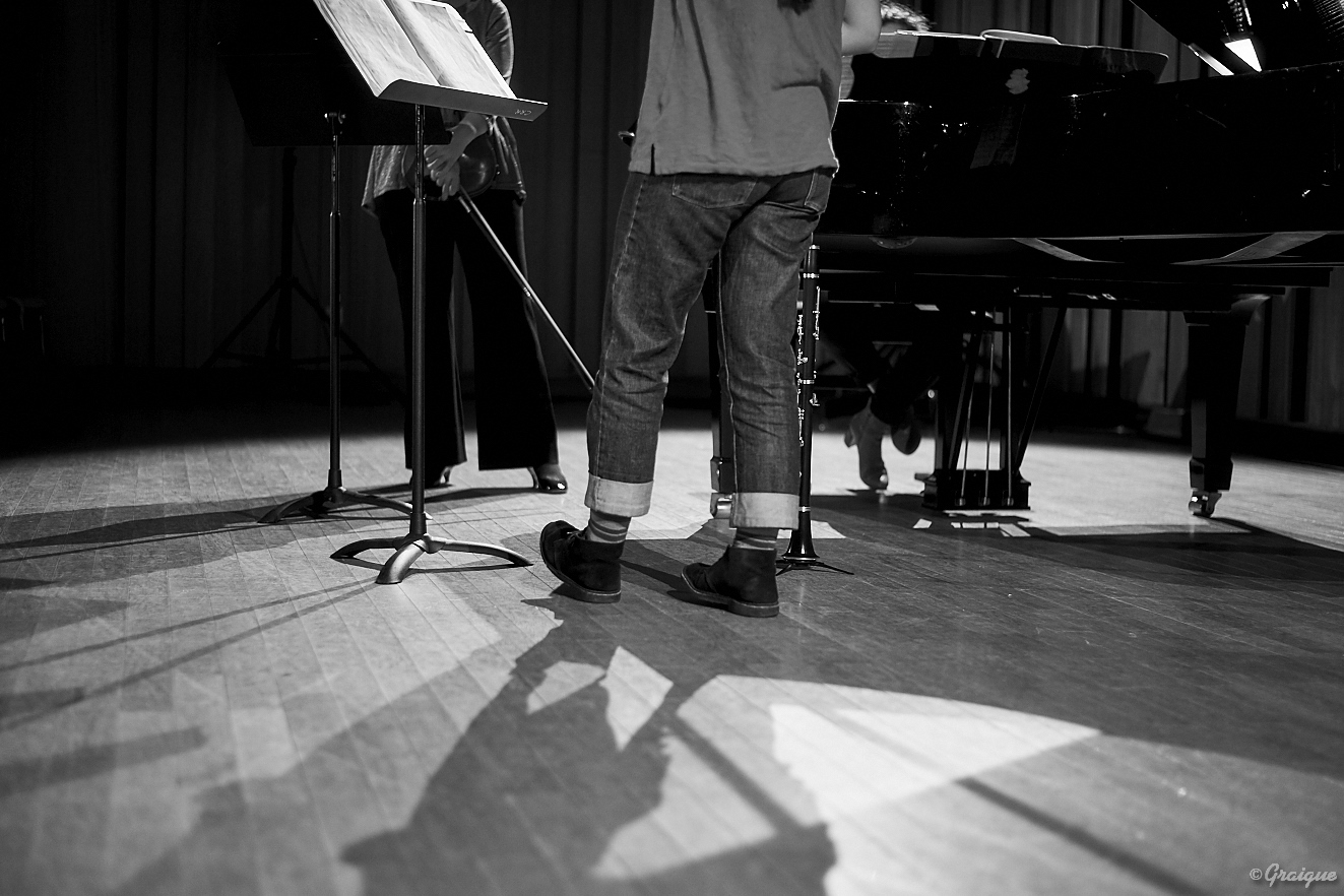 Joséphine Besançon (clarinette), Julie Le Gac (alto), Bianca Chillemi (piano)