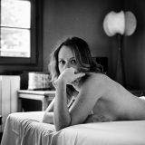 Audrey - glamour sexy underwear nude bed boudoir strasbourg