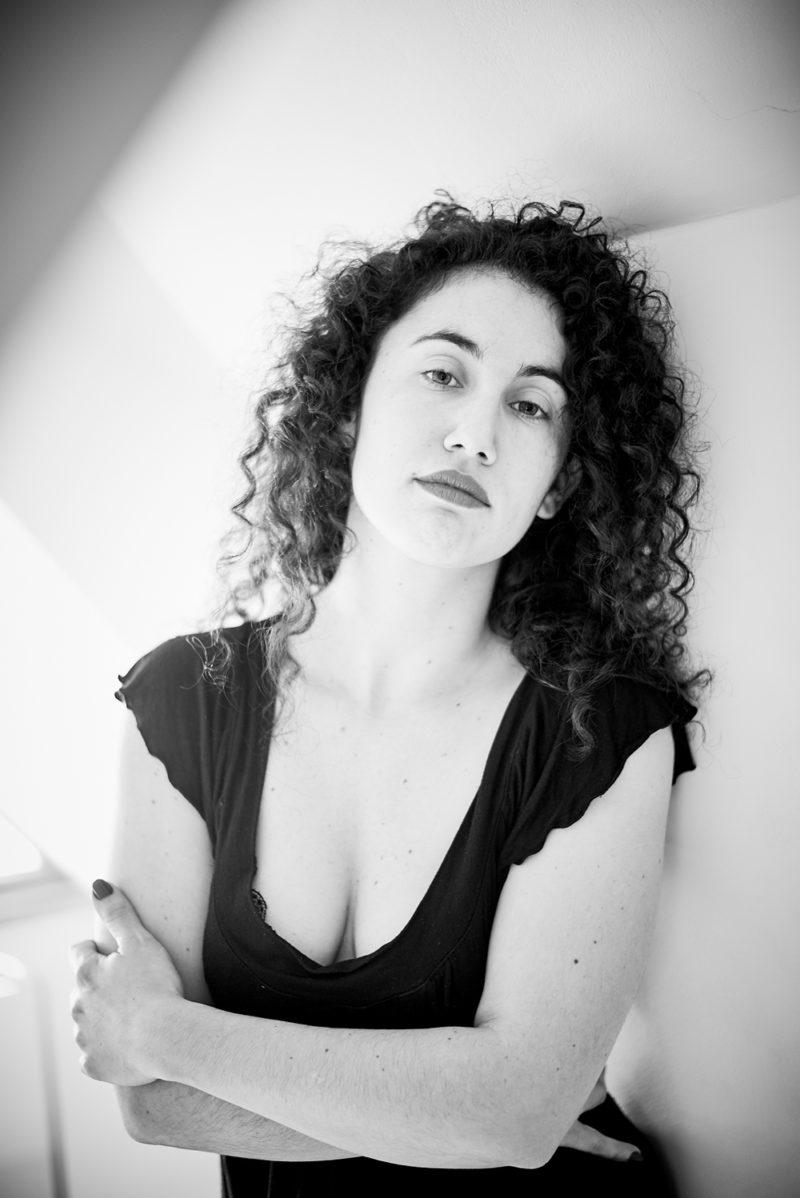 portrait monochrome noir et blanc