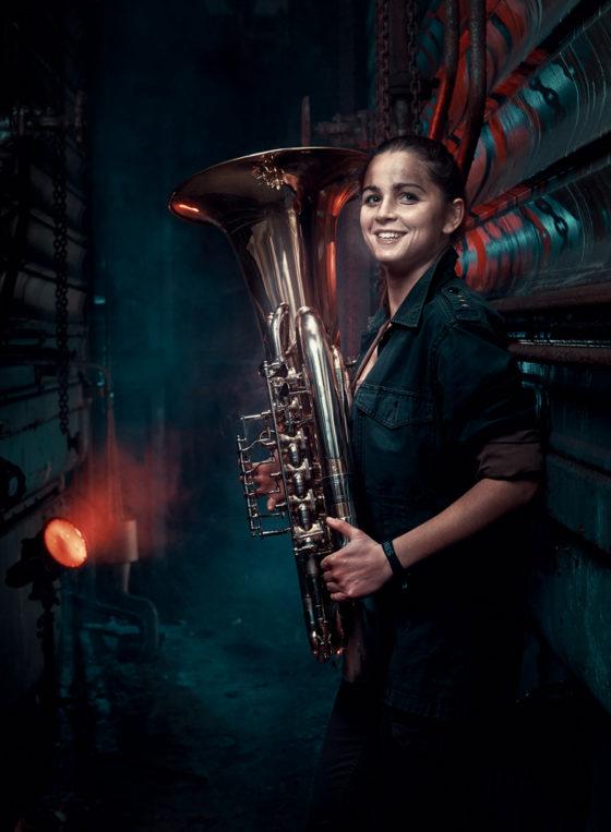 header lara croft lea mercier before after urbex tuba no limit orchestra
